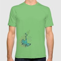 Imaginary Friends Are The Best Friends Mens Fitted Tee Grass SMALL