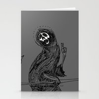 Saint Death  Stationery Cards
