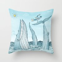 'Special Delivery' Throw Pillow