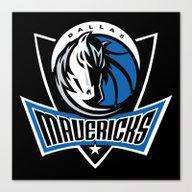 NBA - Mavericks Canvas Print