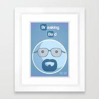 Breaking Bad Blue Sky Ve… Framed Art Print