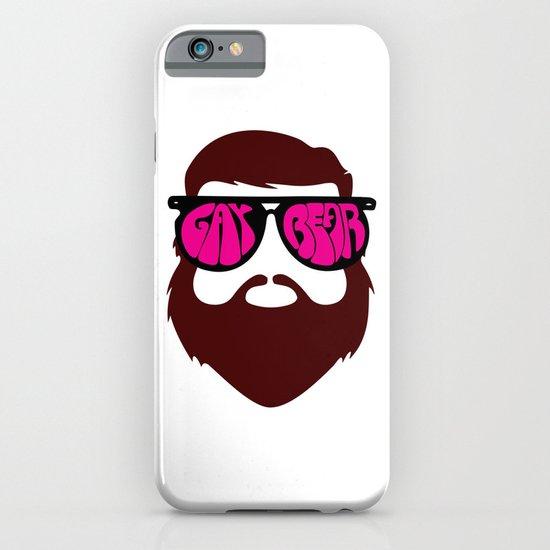 Bear Glasses! iPhone & iPod Case