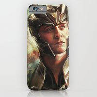 iPhone & iPod Case featuring The Prince of Asgard by Alice X. Zhang