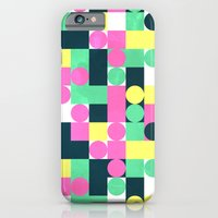 circle square iPhone 6 Slim Case