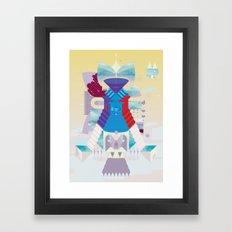 The Sacrifice Framed Art Print
