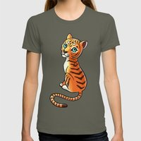 Tiger Cub Womens Fitted Tee Lieutenant SMALL