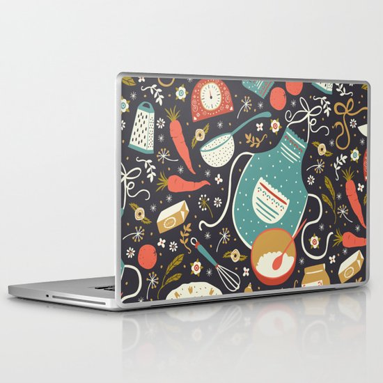 Carrot Cake Laptop & iPad Skin