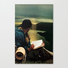 too much light Canvas Print