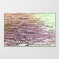 Mini square colors Canvas Print