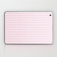 Pink Zigzag Design Laptop & iPad Skin