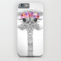 iPhone & iPod Case featuring FLOWER GIRL II  by Monika Strigel