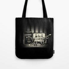 Conjoined Monsters of Rock Tote Bag