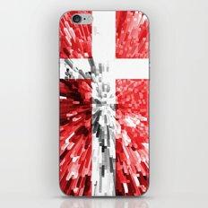 Denmark Flag - Extrude iPhone & iPod Skin