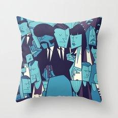 PULP FICTION variant Throw Pillow