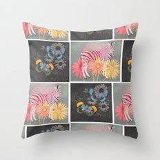 fauna & flora Throw Pillow
