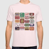 Tins Mens Fitted Tee Light Pink SMALL