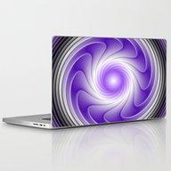 The Power Of Purple Digi… Laptop & iPad Skin