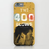 iPhone & iPod Case featuring The 400 Blows movie poster by Adam Juresko