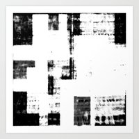 Black & White Abstract S… Art Print