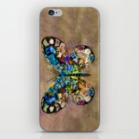 Butterflied iPhone & iPod Skin