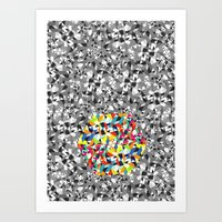 K∆leidoscopeMulti Art Print