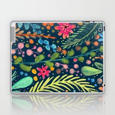 les prairies (navy) Laptop & iPad Skin