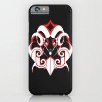 Warrior (White & Red) iPhone 6 Slim Case
