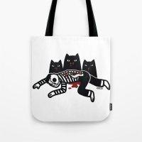 Cat Feast Tote Bag