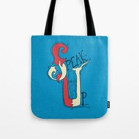 Speak Up! (Proverbs 31:9… Tote Bag