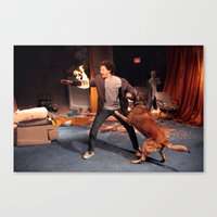 eric andre Canvas Print