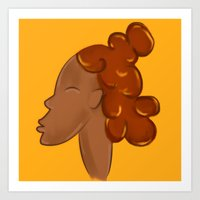CROWN - SUN Art Print