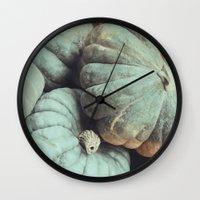 les citrouilles no. 2 Wall Clock
