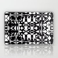 Black And White Square 3… Laptop & iPad Skin