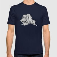 Structure (XYZ) Mens Fitted Tee Navy SMALL