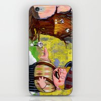 Heaven & Hell Print~! iPhone & iPod Skin