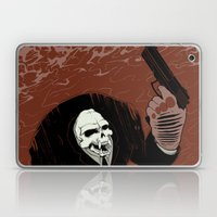 Monkey Skull Suit Laptop & iPad Skin