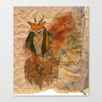 Forest Princess Canvas Print