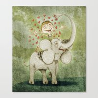 Elephant Canvas Print