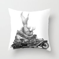 In Which A Goldfish Spoi… Throw Pillow