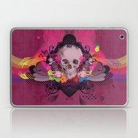 Skull Rainbow Laptop & iPad Skin