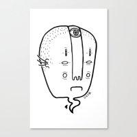 Old Head Canvas Print