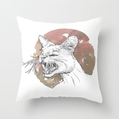 Bastet Unrequited Throw Pillow