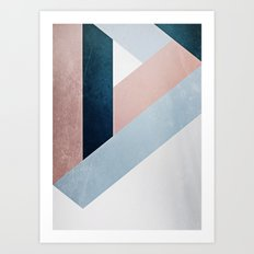 Complex Triangle Art Print