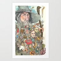 Gandalf's Beard Art Print