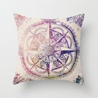 Throw Pillow featuring Voyager II by Jenndalyn