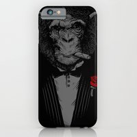 iPhone Cases featuring Monkey Business by Alex Solis
