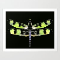 Dragon Fly #1 Art Print