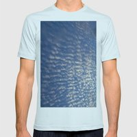 Summer Evening Mens Fitted Tee Light Blue SMALL