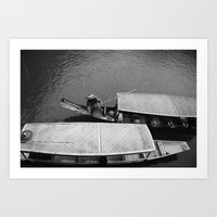 Two Boats Art Print