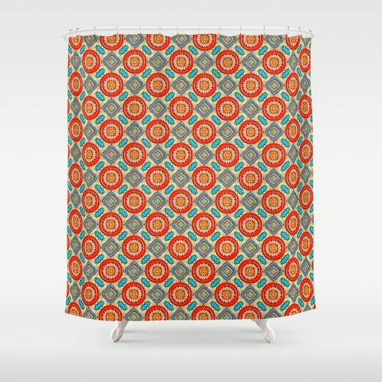 Persian Seal Shower Curtain